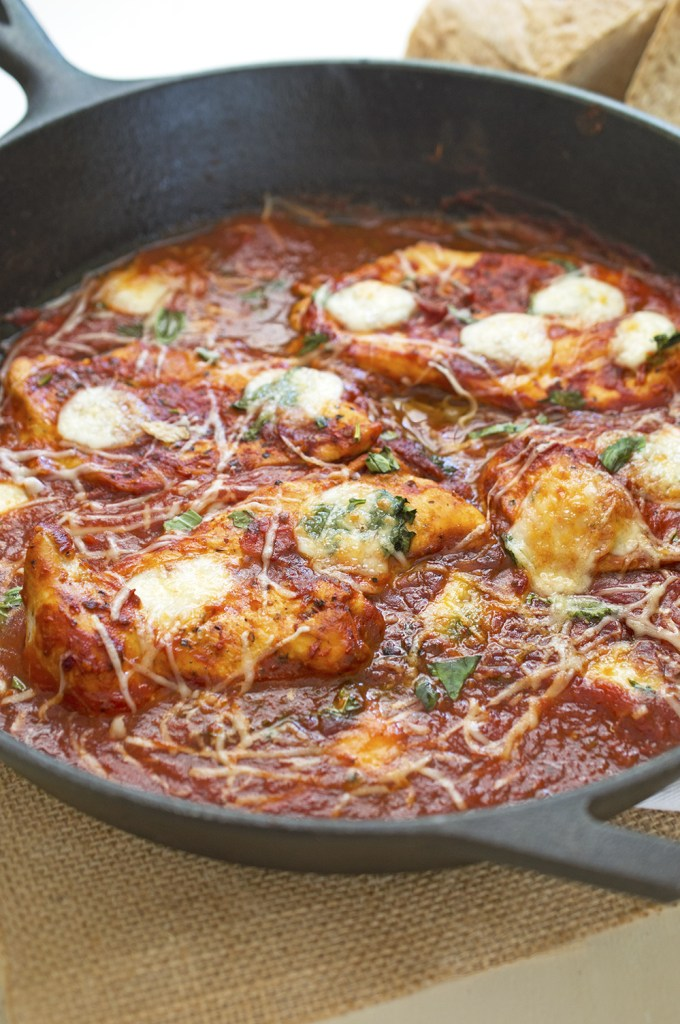 One Pan Italian Chicken Skillet