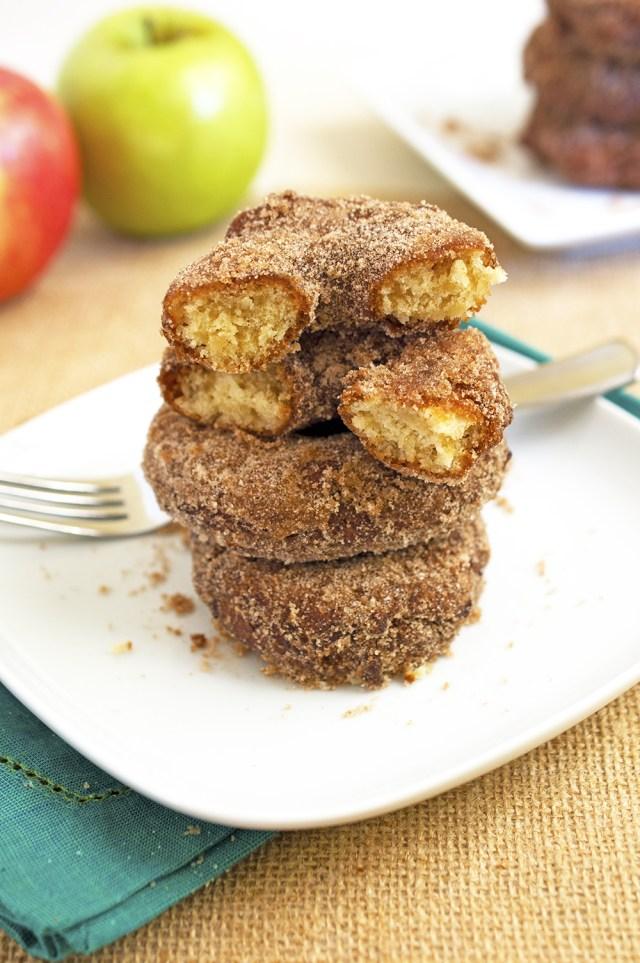 Apple Cider Doughnuts Recipe | chefsavvy.com