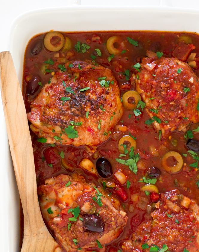 Chicken Puttanesca | chefsavvy.com
