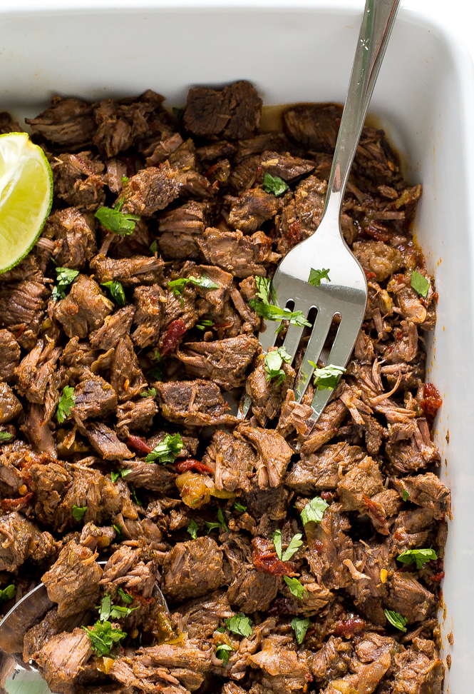 Slow Cooker Barbacoa Beef | chefsavvy.com