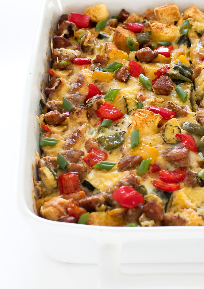 Easy Breakfast Bake | chefsavvy.com