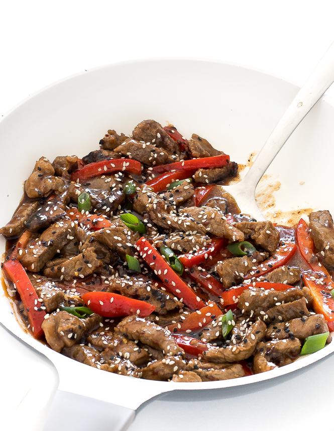 Szechuan Beef | chefsavvy.com