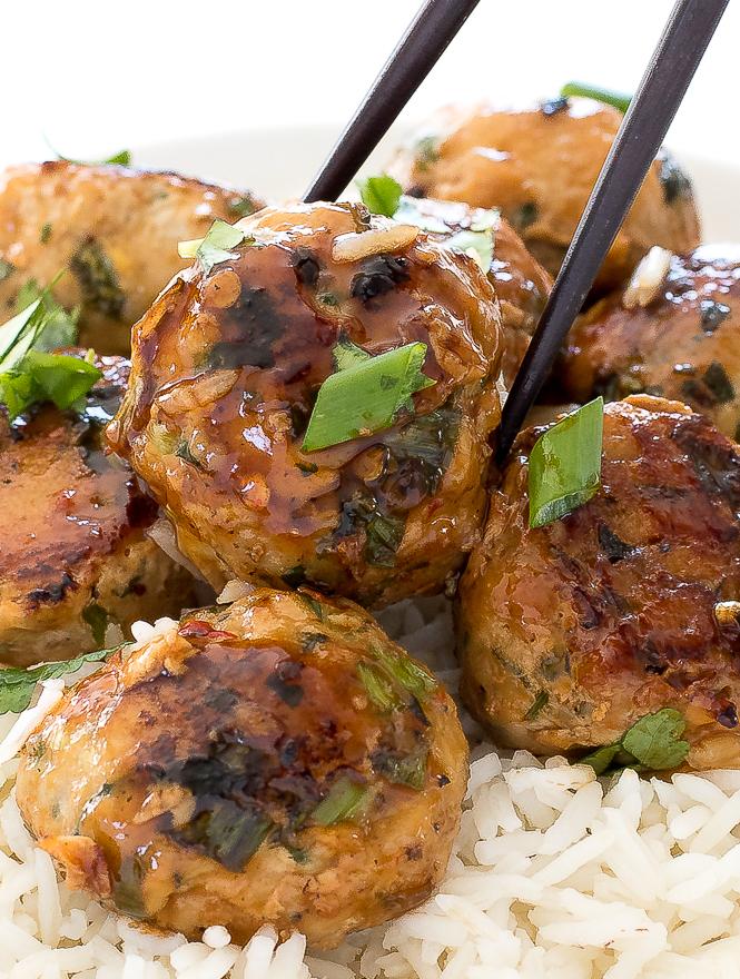 Easy Vietnamese Pork Meatballs | chefsavvy.com