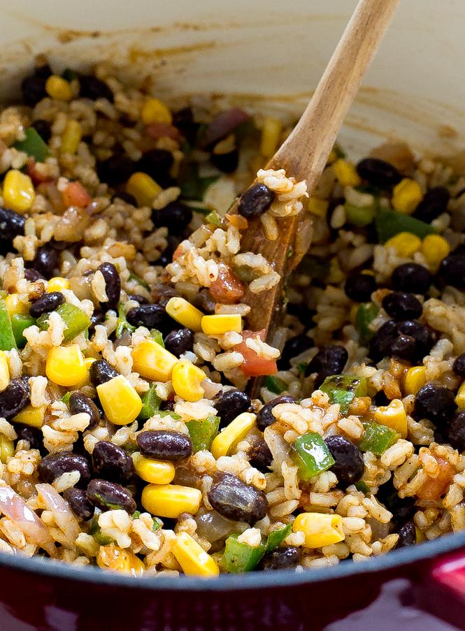Enchilada Rice | chefsavvy.com
