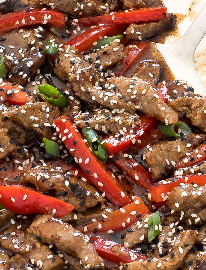 Authentic Szechuan Beef | chefsavvy.com