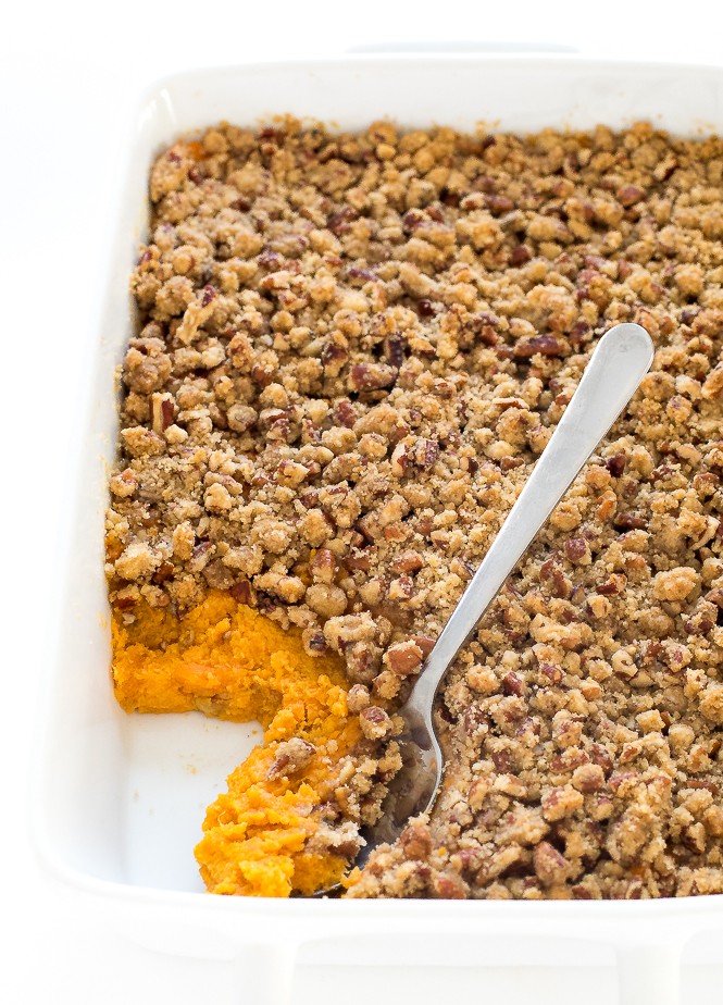 Sweet Potato Casserole Recipe | chefsavvy.com