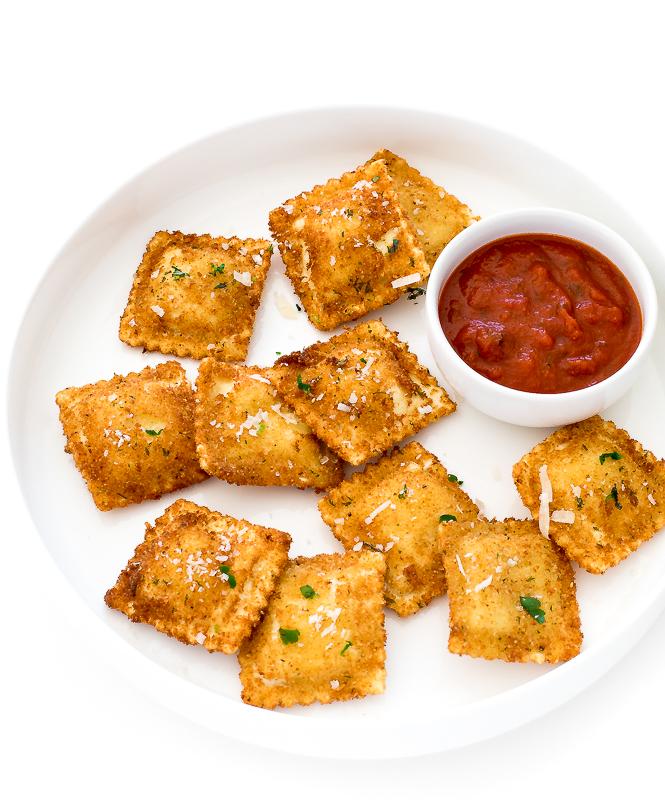 Toasted Ravioli | chefsavvy.com
