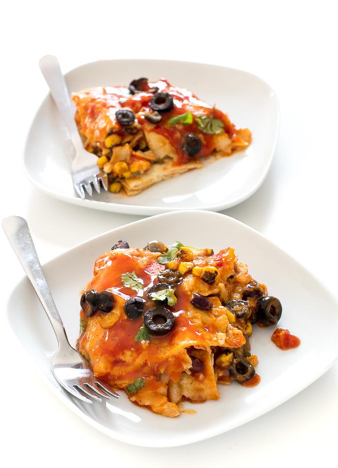Easy Enchilada Casserole | chefsavvy.com
