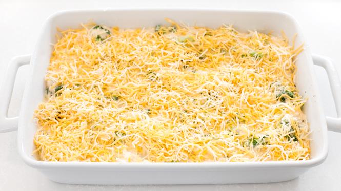 Broccoli Rice Casserole | chefsavvy.com