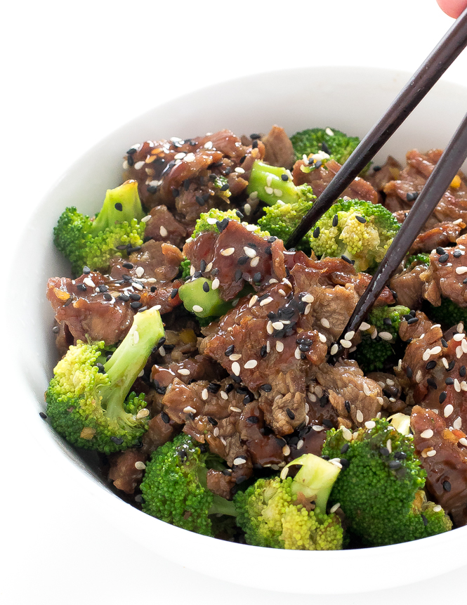 Skirt Steak Chinese Beef | chefsavvy.com