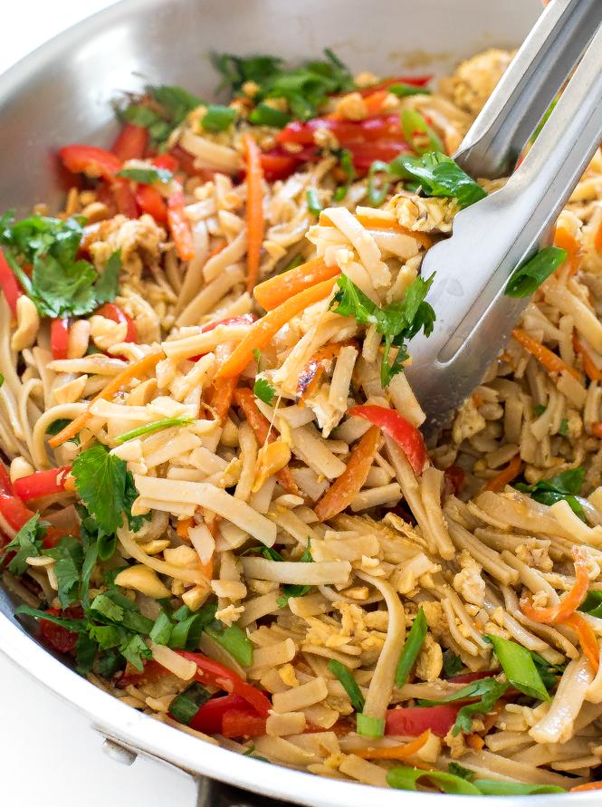 The BEST Pad Thai Recipe | chefsavvy.com