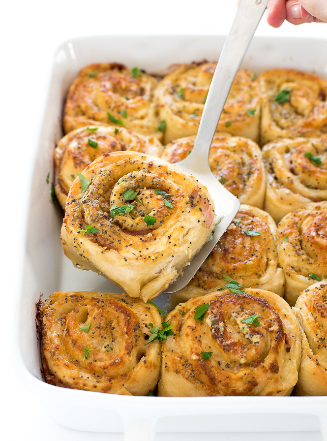 Ham and Cheese Pinwheels | chefsavvy.com