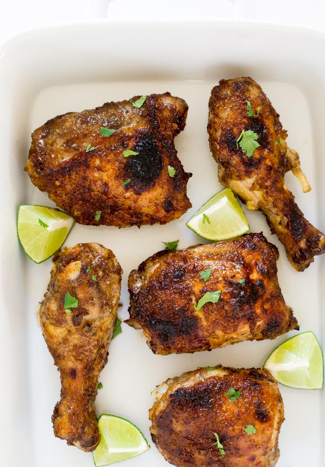Oven Baked Jerk Chicken | chefsavvy.com