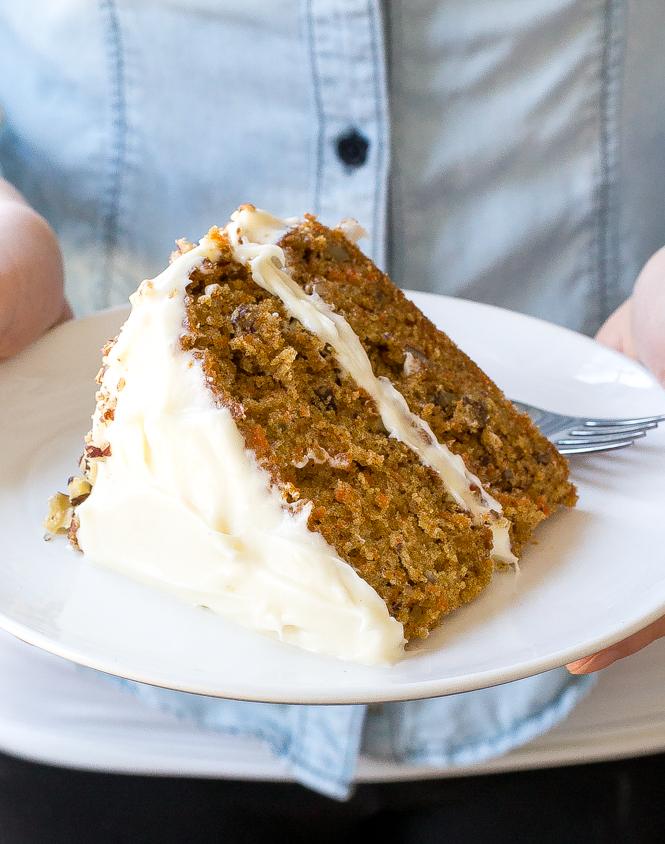Homemade Carrot Cake | chefsavvy.com