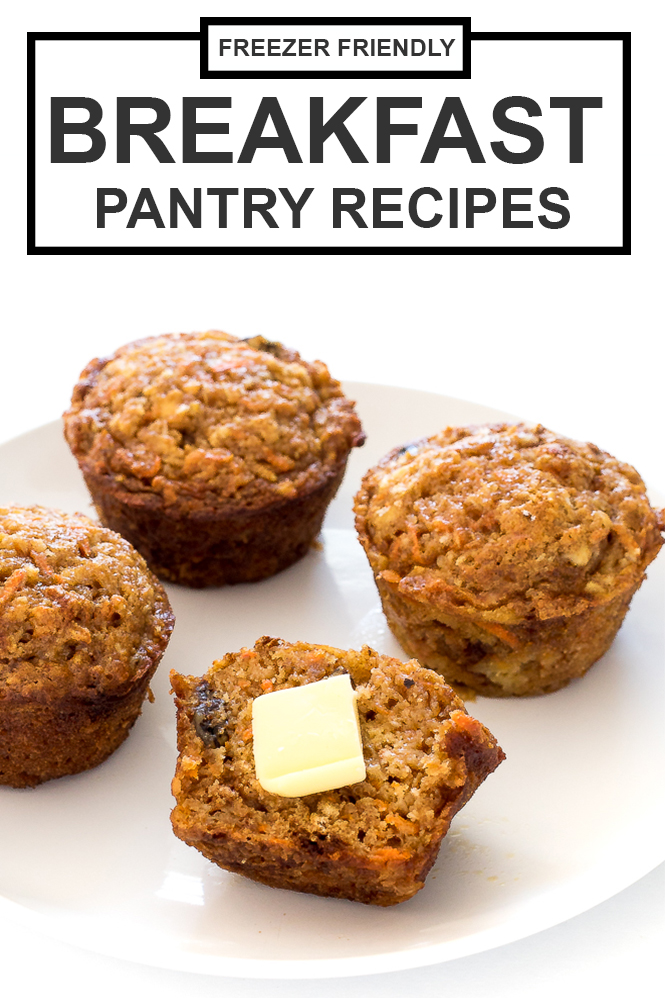 Breakfast Pantry Recipes | chefsavvy.com