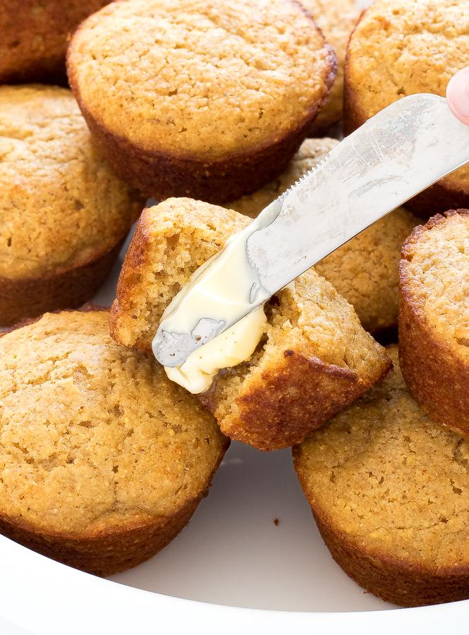 Easy Corn Muffins   chefsavvy.com