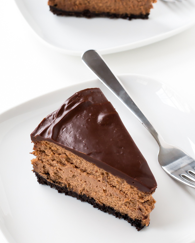 Chocolate Cheesecake | chefsavvy.com