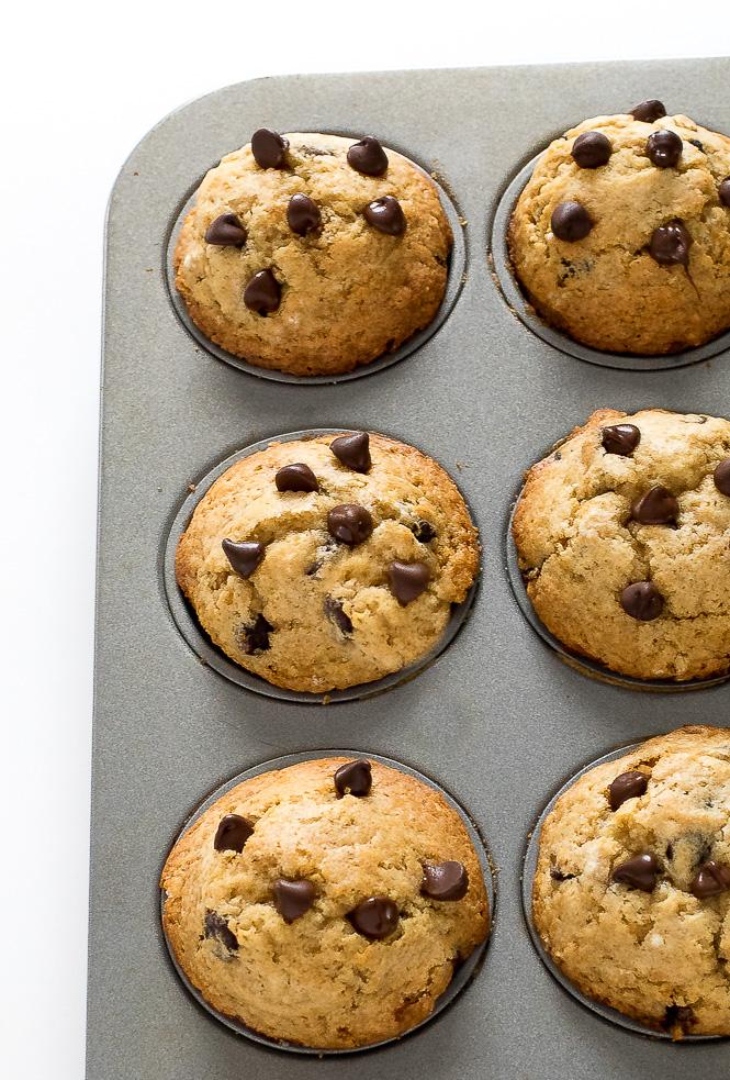 Chocolate Chip Muffins | chefsavvy.com