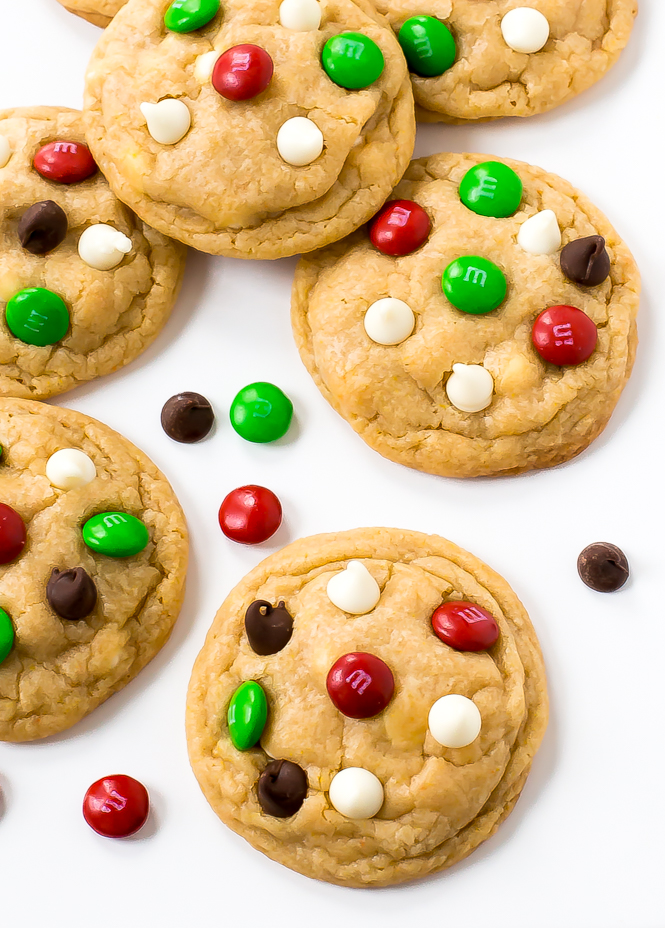 Chocolate Chip Christmas Cookies | chefsavvy.com