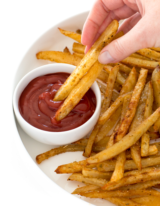 Baked French Fries | chefsavvy.com