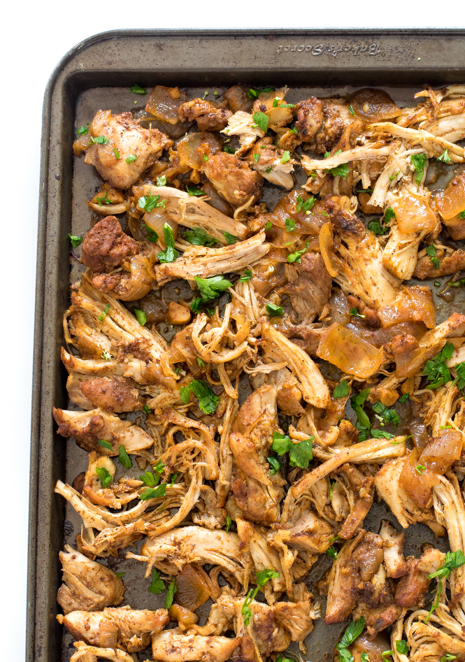 Instant Pot Chicken Carnitas | chefsavvy.com