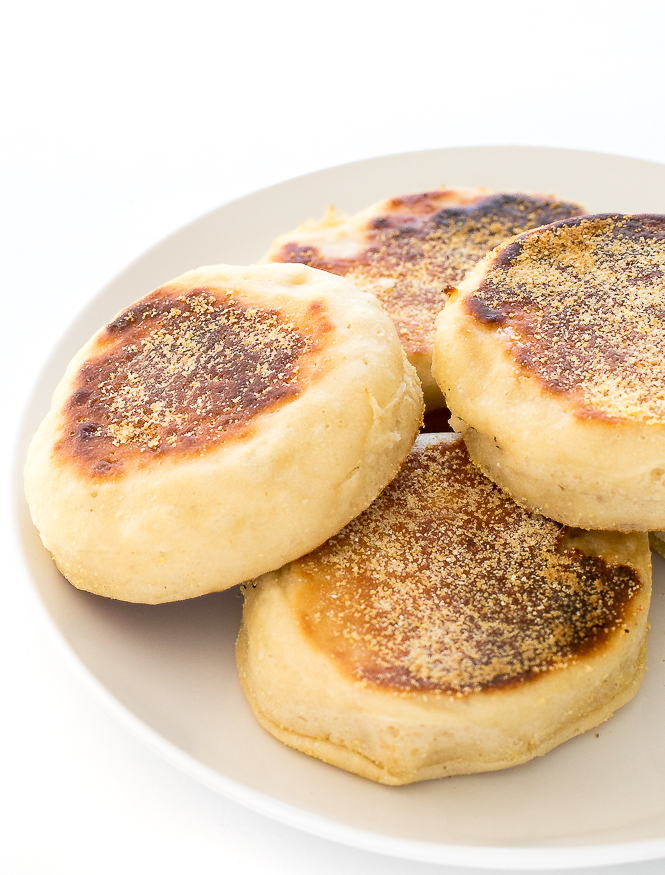 Homemade English Muffins | chefsavvy.com