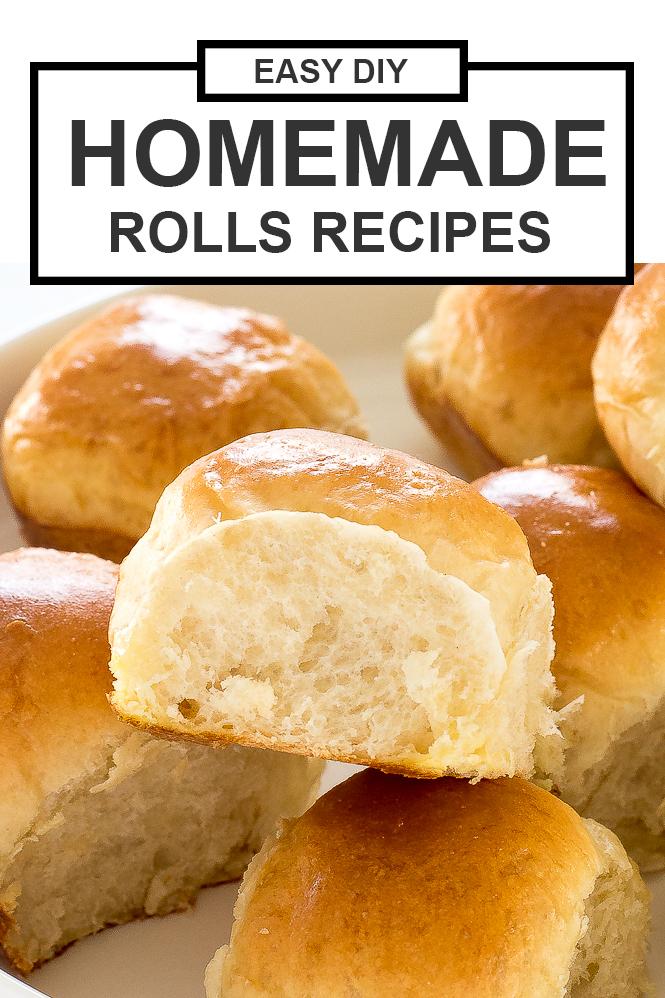 Homemade DIY Rolls Recipes | chefsavvy.com