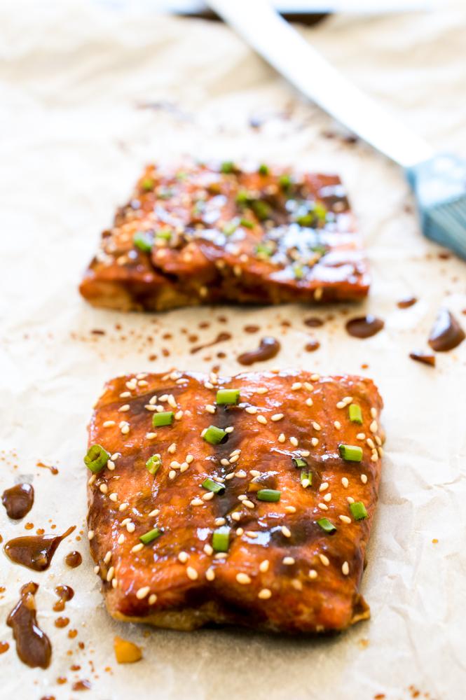 Teriyaki Salmon   chefsavvy.com