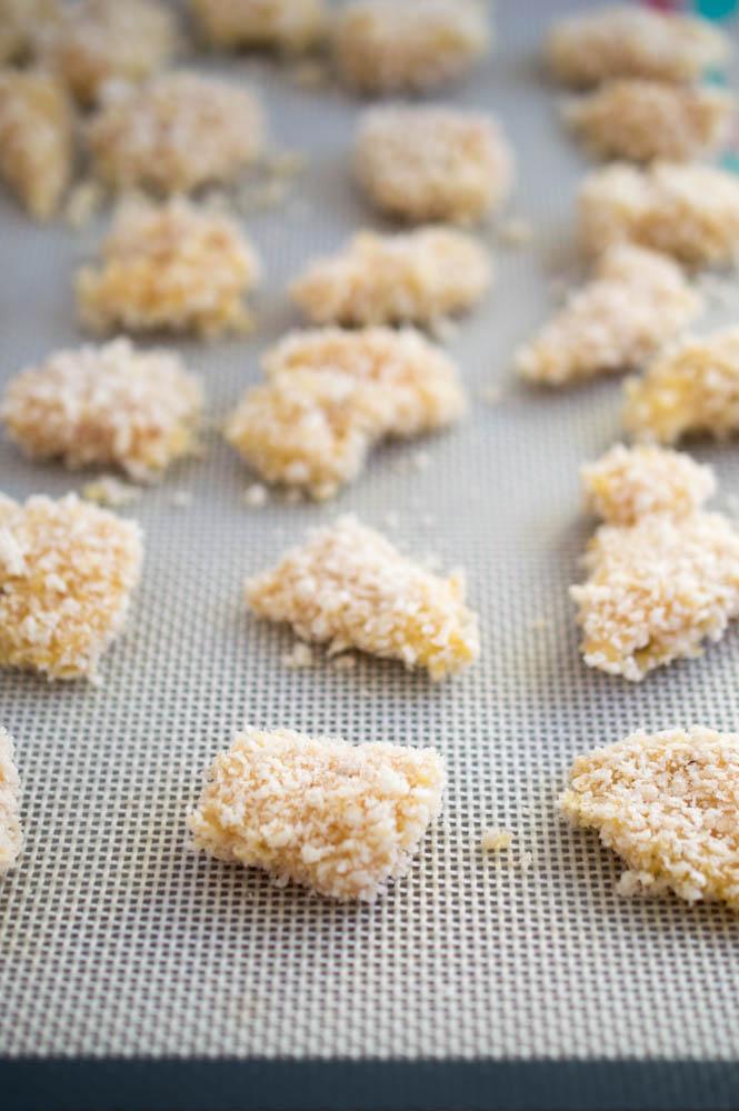 Honey Garlic Sesame Chicken | chefsavvy.com