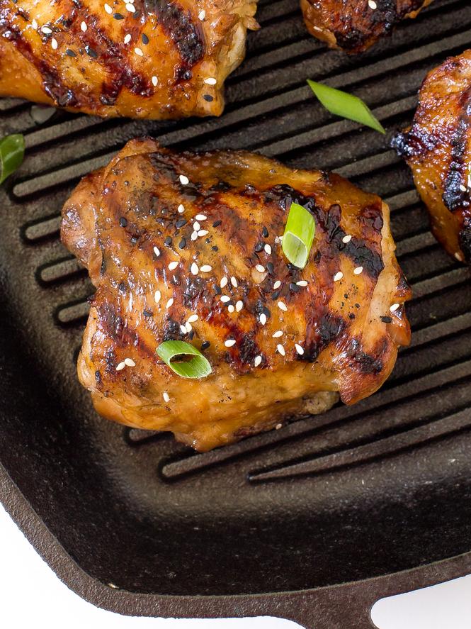 Easy Korean Grilled Chicken | chefsavvy.com