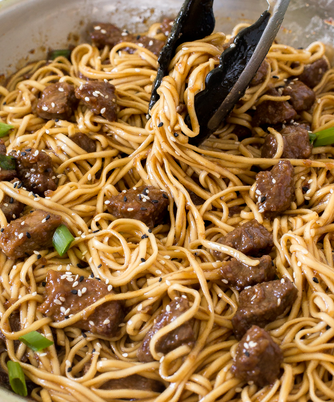 Beef Teriyaki Noodles 20 Minute Recipe Chef Savvy