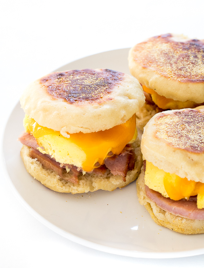 Make Ahead Freezer Breakfast Sandwiches | chefsavvy.com