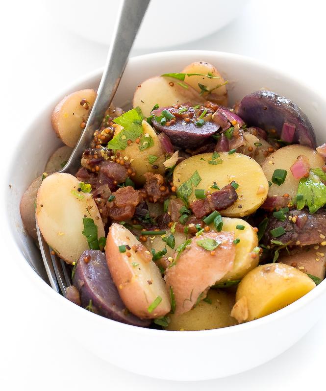 German Potato Salad Recipe   chefsavvy.com
