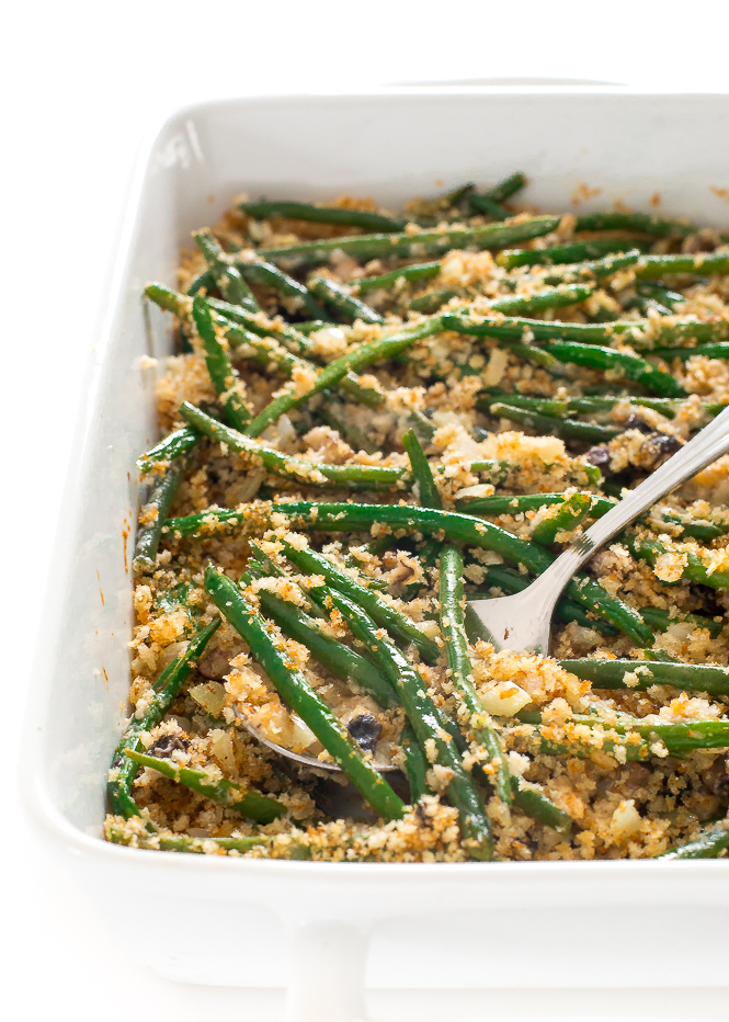 The Best Green Bean Casserole All From Scratch Chef Savvy