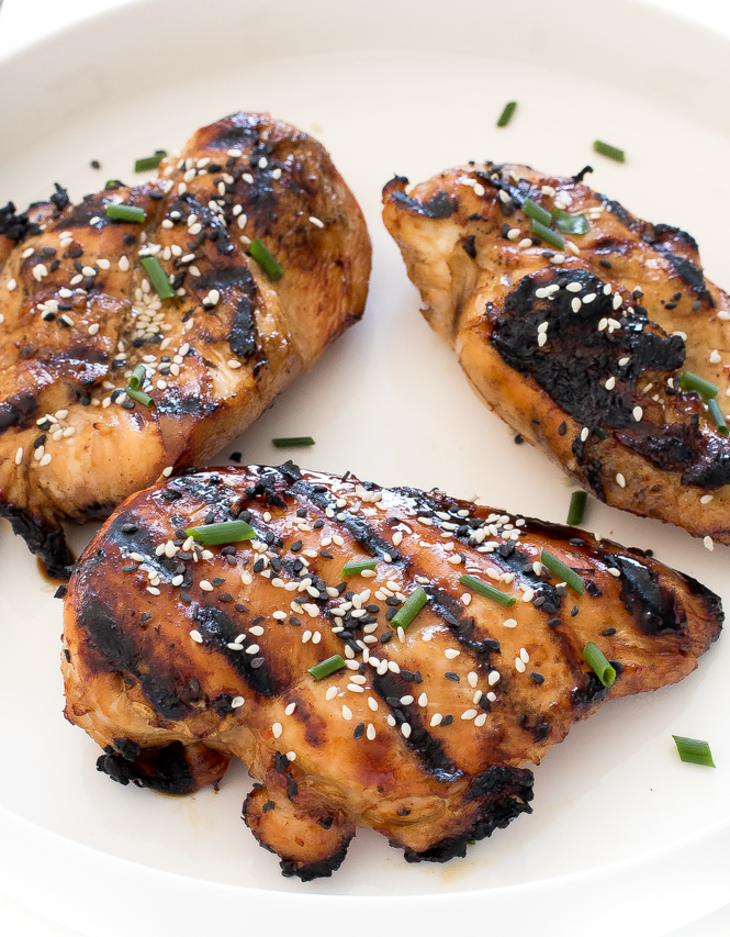 How To Make Asian Grilled Chicken | chefsavvy.com