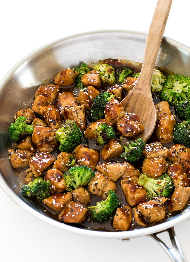 Honey Garlic Chicken Stir Fry | chefsavvy.com