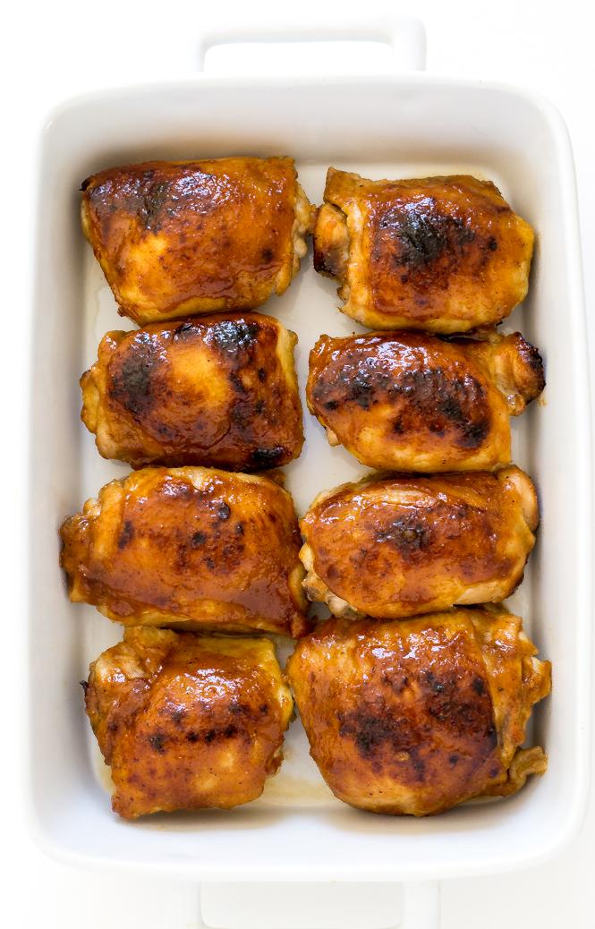 Baked Honey Mustard Chicken | chefsavvy.com