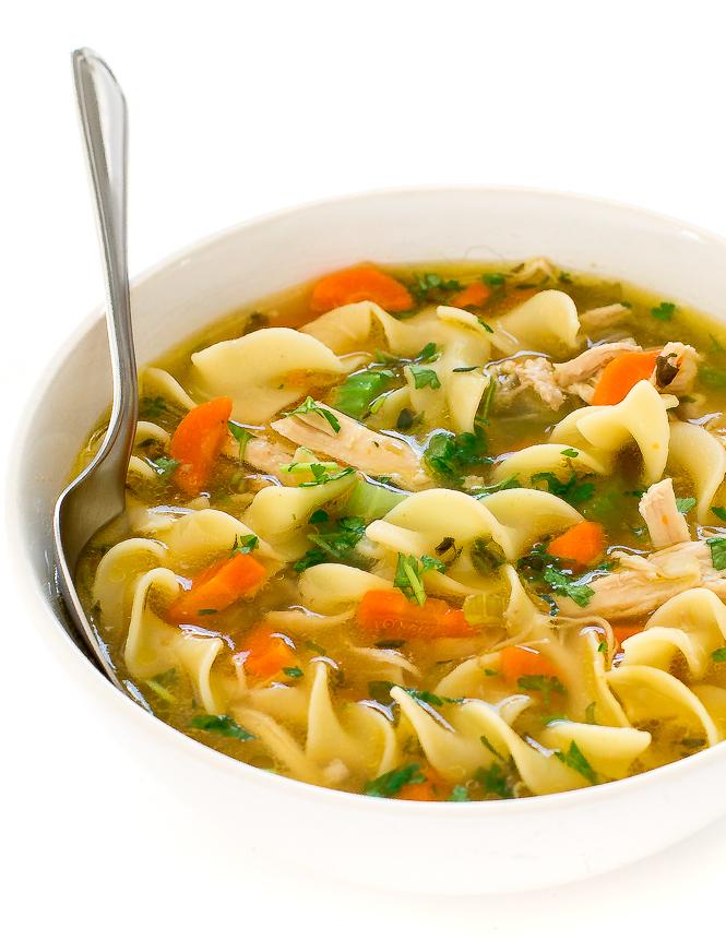 The BEST Instant Pot Chicken Noodle Soup | chefsavvy.com