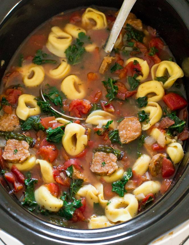 Italian Sausage and Kale Soup | chefsavvy.com