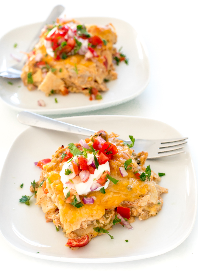 King Ranch Chicken Casserole | chefsavvy.com