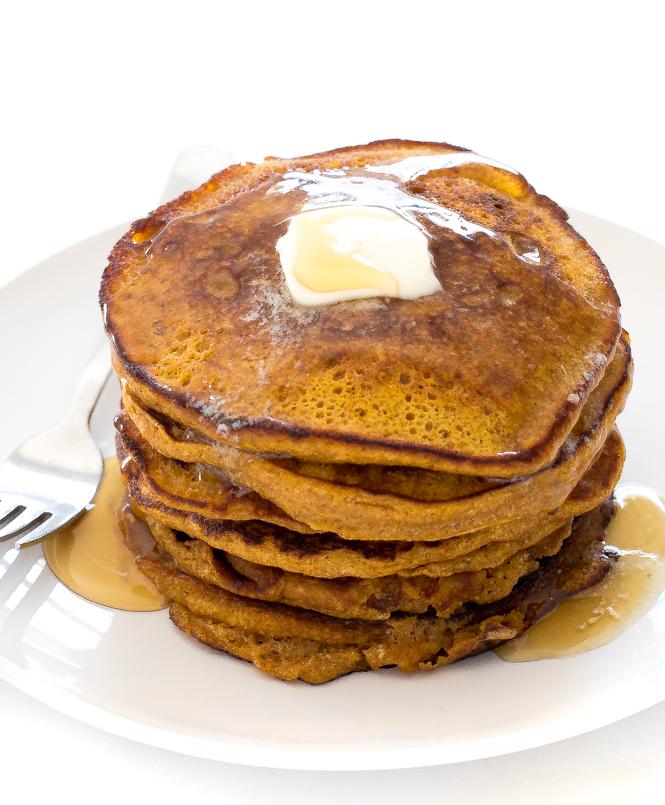 Pumpkin Pancakes | chefsavvy.com
