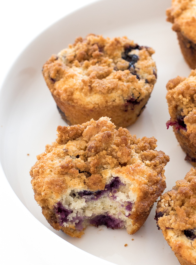 best blueberry muffins recipe blueberry streusel muffins recipe | chefsavvy.com