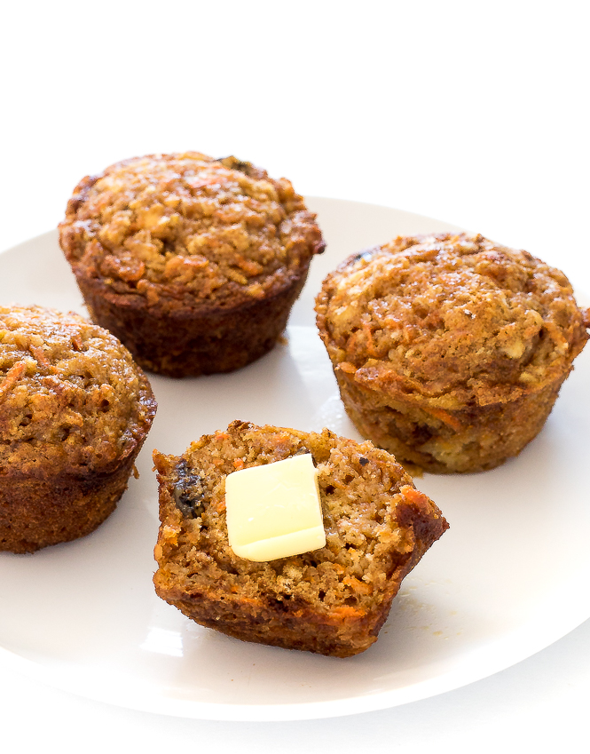 Morning Glory Muffins | chefsavvy.com