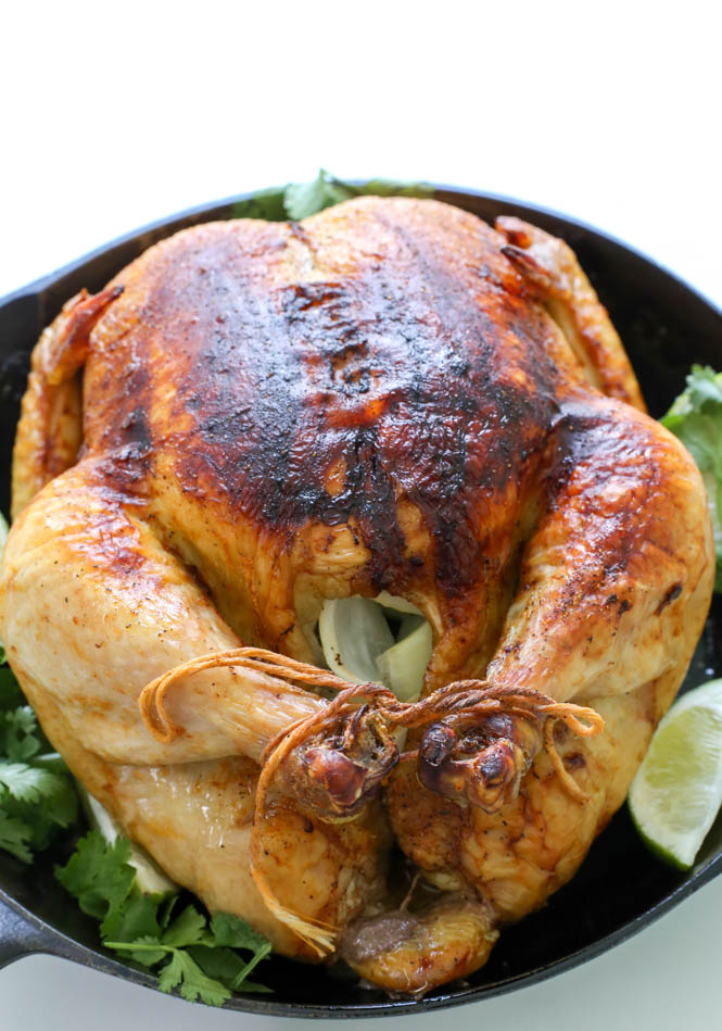 Whole Roasted Chicken | chefsavvy.com