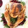 roasted turkey thanksgiving