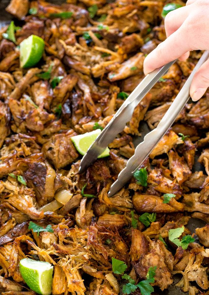 Crispy Pork Carnitas | chefsavvy.com