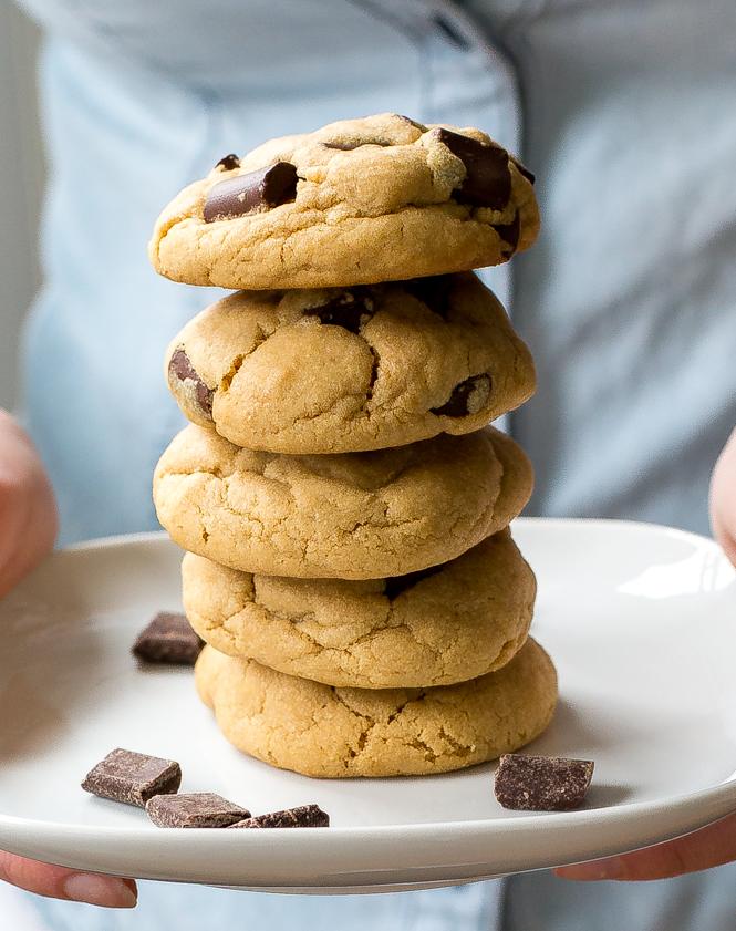 Soft Peanut Butter Cookies   chefsavvy.com
