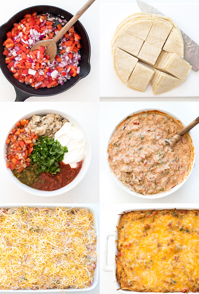 Learn how to make King Ranch Chicken | chefsavvy.com