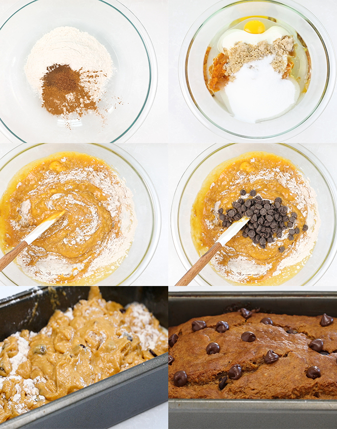 Step by step pictures of pumpkin bread | chefsavvy.com
