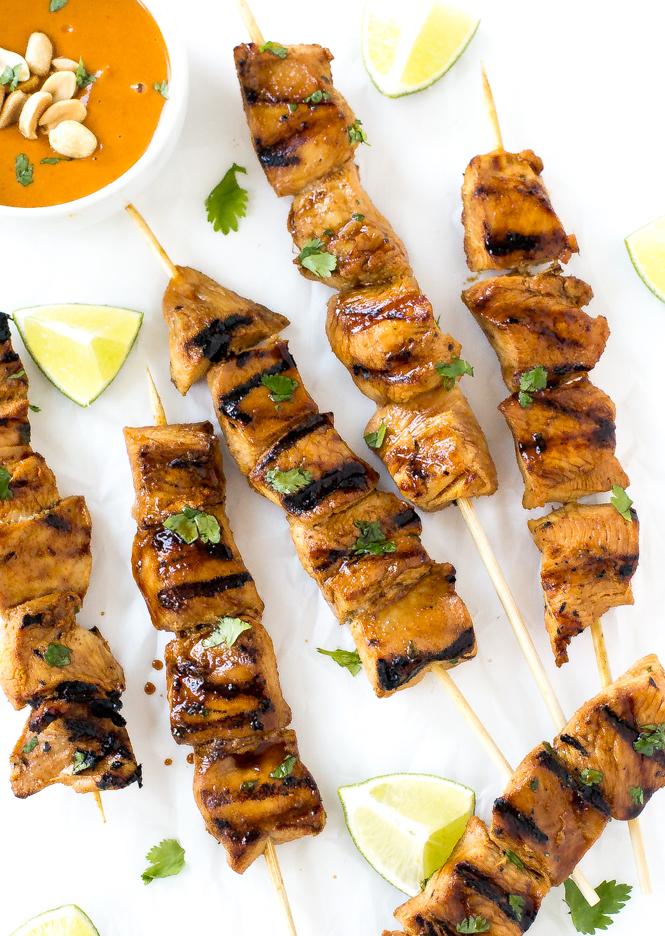Chicken Satay | chefsavvy.com